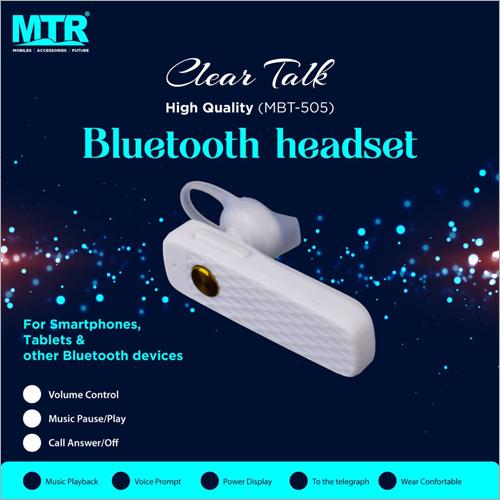 Plug In Bluetooth Headset