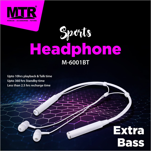 M-6001BT Sports Headphones