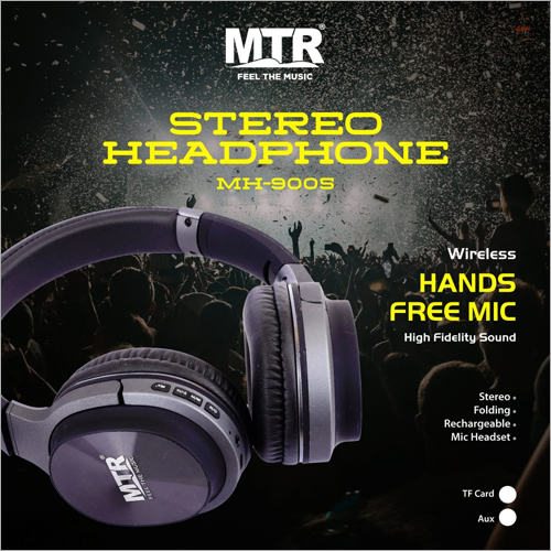 Rechargable Stereo Headphone