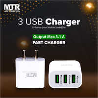 3 USB Charger