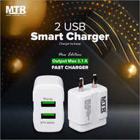 2 USB Smart Charger