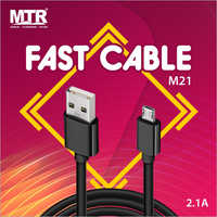2.1 A Fast Charging Cable