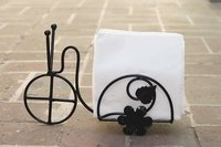 Beautiful Design 1 Compartments Tissue Box & Napkin Holder Rickshaw Design