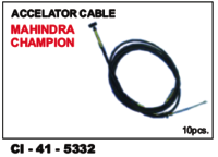 Accelator Cable Mahindra Champion