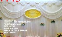Parda design for marriage tent