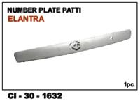 Number Plate Patti Elantra