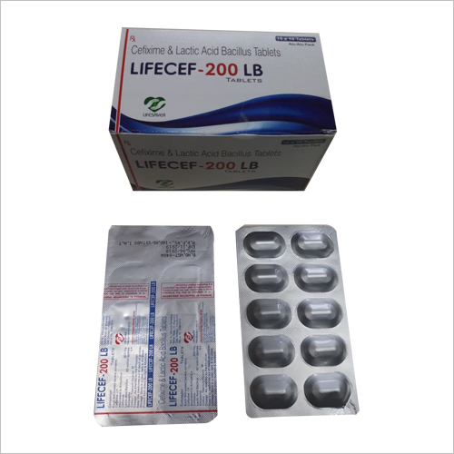 Lifecef-200 LB Tablets