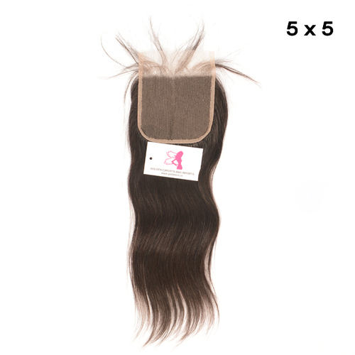 Straight Lace Closures 5X5