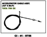 Accelerator Cable Asssy( 82 X 86.5 Inc) Tata 709 Ex
