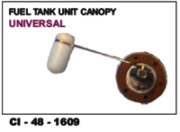 Fuel Tank Unit Canopy Universal