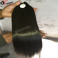 Temple Straight Human Indian Hair