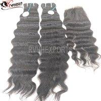 Curly Natural Indian Straight Human Hair