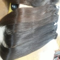 Wholesale Natural Straight Indian Temple Hair Cuticle Aligned