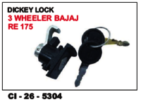 Dicky Lock 3 Wheeler Bajaj Re 175