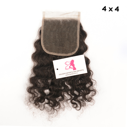 Curly Lace Closure 4X4