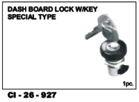Dash Board Lock  W/Keys Special Type
