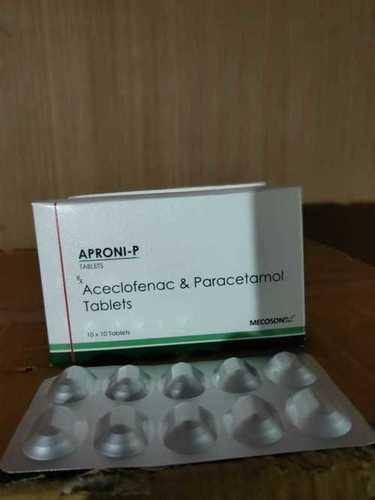 Aceclofenac 100 mg+Para 325 mg