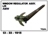 Window Regulator Assy L/R Amw