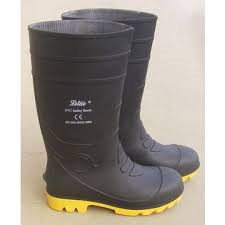 PVC GUM BOOT (yellow sole)