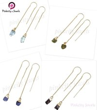 Aquamarine 925 Silver Earring