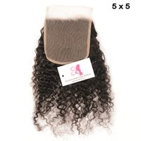 Curly Lace Closures 5X5