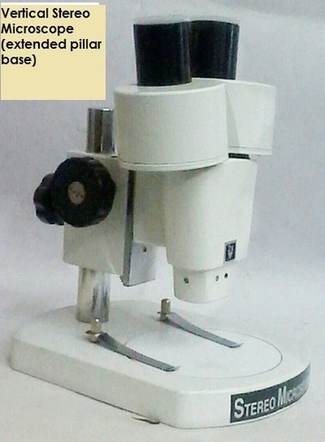 Vertical Stereo Microscope (extension pillar base)