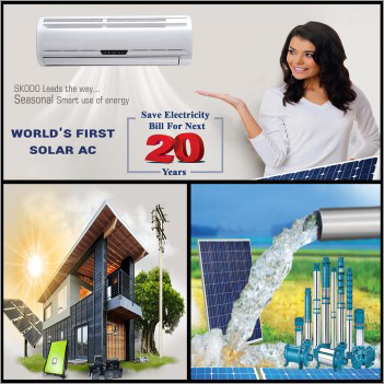 World's First Solar AC