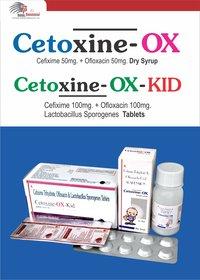 Cefixime Trihydrate + Ofloxacin  + Lactic Acid Bacillus 60