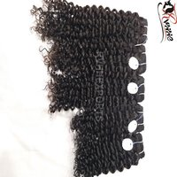 Deep Curly Unprocessed Natural Indian Virgin Human Hair