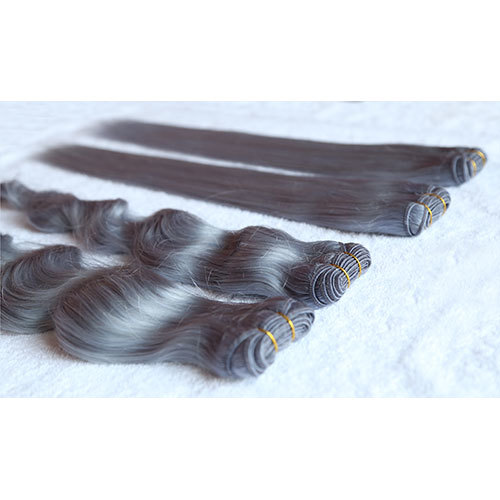 Silver Grey Hair Extensions