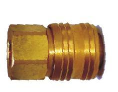 Female Socket (German Type Brass)