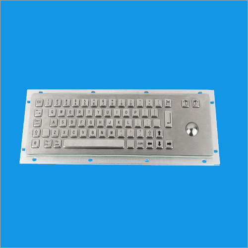 Metal Trackball Keyboard