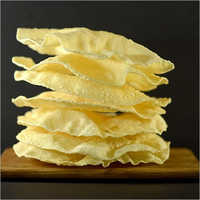 Round Plain Papad
