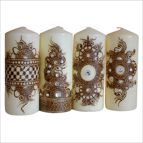 Decorative Printed Candles