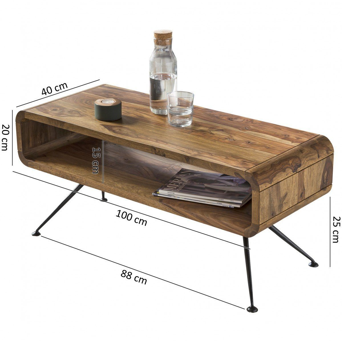 wooden center coffee table valiant