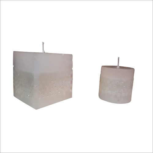 White Pearl Candle