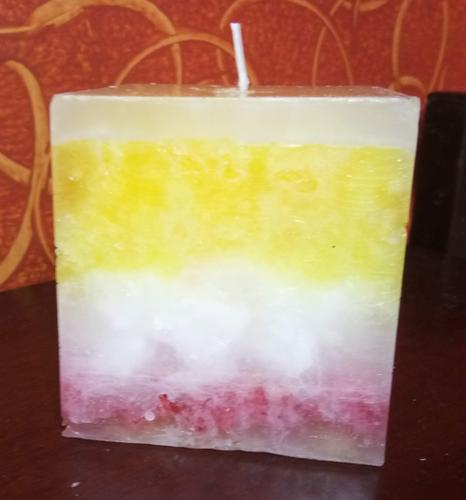 Handmade Granite Candle