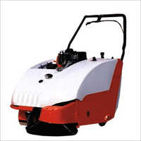 Petrol Operate Sweeper Machine