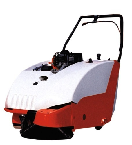 Magna Petrol Operate Sweeper Machine