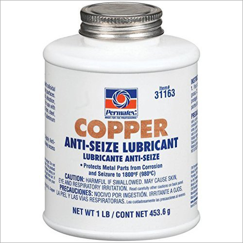 Copper Anti Seize Lubricant