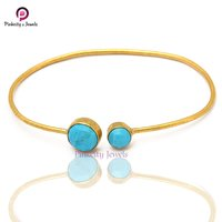 Turquoise 925 Silver Bangle