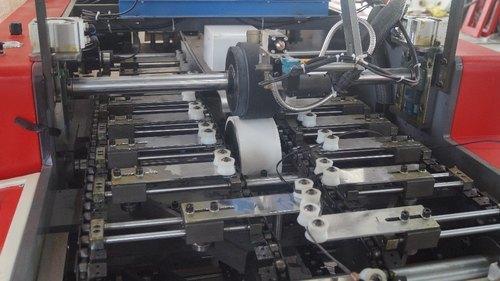 Paper Rope Twisting with Rewinding & Loop Making Machine