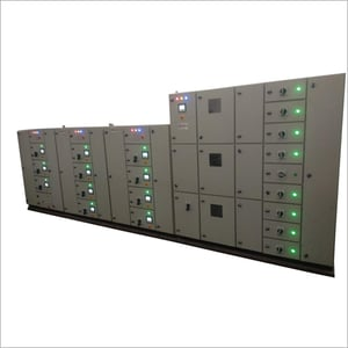 Three Phase Distribution Control Panel
