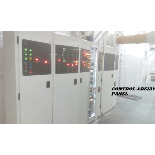 Electrical Relay Control Panel
