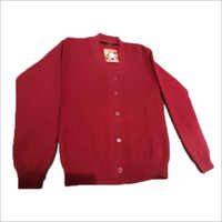 Ladies Red Woolen Sweater