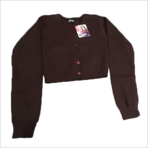 Ladies Plain Woolen Blouse Sweater