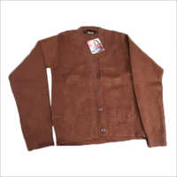 Ladies Brown Woolen Sweater