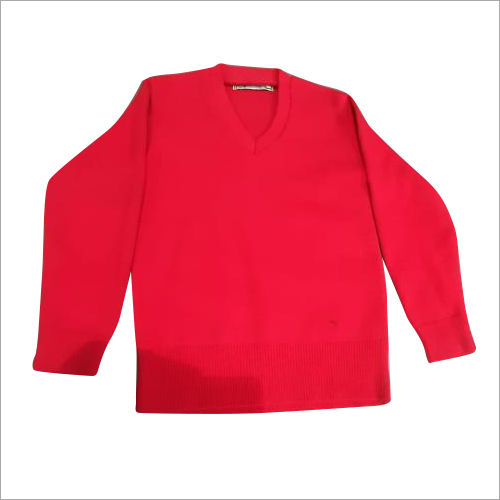 School Uniform Red Sweater