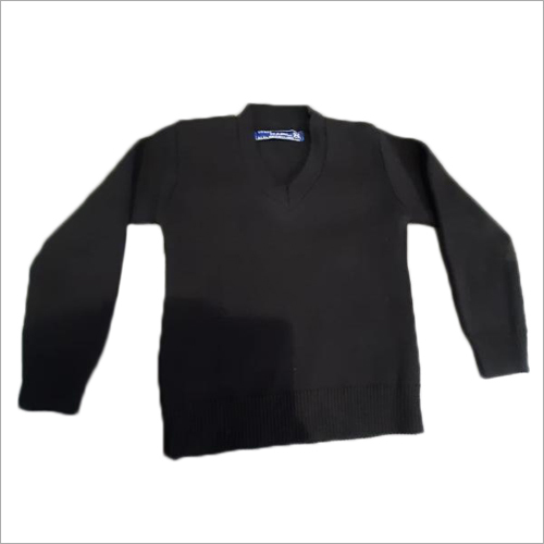 School Uniform Black Sweater