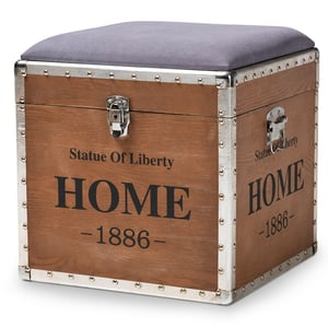 Vintage style Box with seat